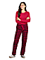 Women's Flannel Pyjama Gift Set