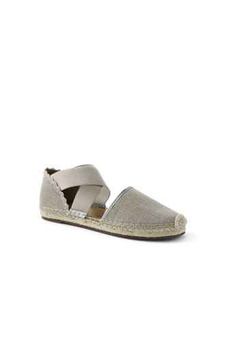 Women's Cross-strap Espadrille Sandals