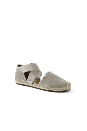 Women's Cross-strap Espadrille Sandals