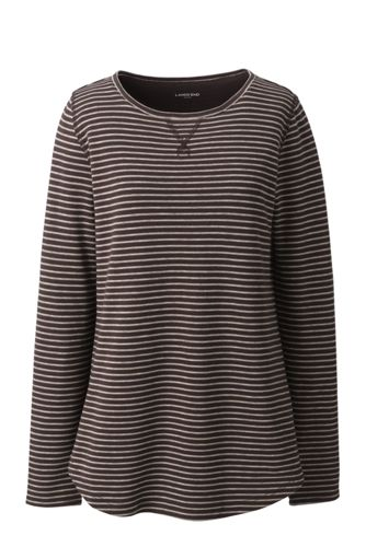 Pima-Shirt Langarm Gestreift