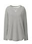 Pima-Shirt Langarm Gestreift in Petite-Größe