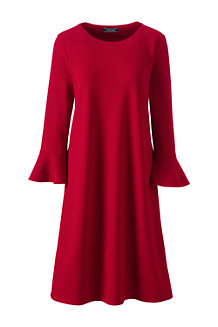 Women's Flutter Sleeve Shift Dress
