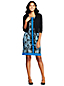 Women's Sleeveless Ponté  Sheath Dress