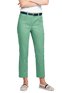 Women's Chino Cropped Trousers