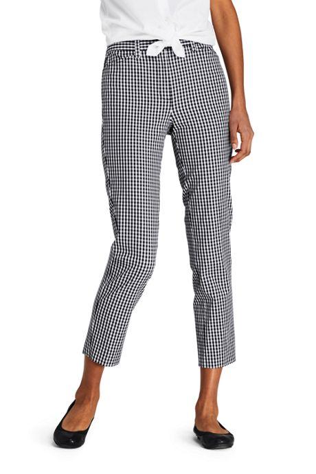 Women's Mid Rise Chino Capri Pants
