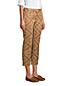 Chino Slim Stretch 7/8 à Carreaux Taille Mi-Haute, Femme Stature Standard