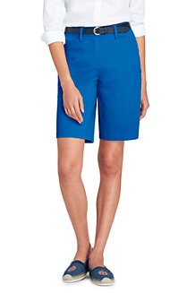 Gemusterte Chino-Bermudas mit Stretch - Pink - 34 von Lands End Lands End