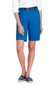 "Women's Tall Mid Rise 10"" Chino Bermuda Shorts"