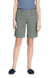 Women's Mid Rise 10″ Bermuda Chino Shorts