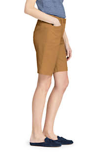 "Women's Mid Rise 10"" Chino Bermuda Shorts, Unknown"