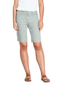 "Women's Mid Rise 10"" Chino Bermuda Shorts"