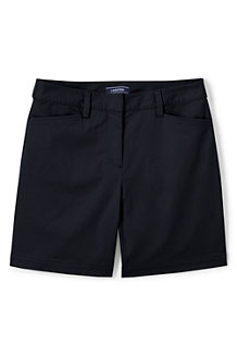Chino-Shorts mit Stretch für Damen, 18 cm