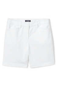 "Women's Plus Size Mid Rise 7"" Chino Shorts"