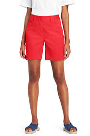 "Women's Tall Mid Rise 7"" Chino Shorts"
