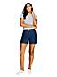 Le Bermuda Chino Stretch Uni, Femme Stature Standard