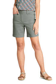"Women's Mid Rise 7"" Chino Shorts"