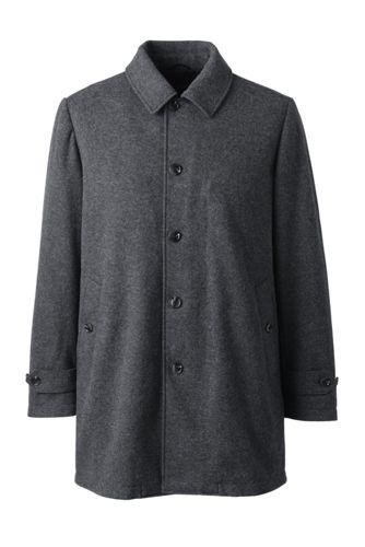 メンズ・ウールニット・ストレッチ・コート
