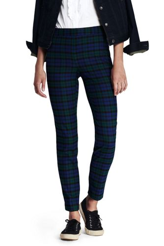 Black Dress Pants Womens Lands End