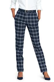 Women's Mid Rise Flannel Slouch Pants