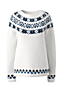 Women's Airspun Fair Isle Boatneck Jumper