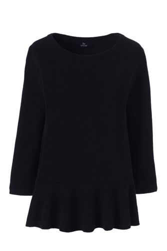 Women's Ruffled Hem Cashmere Jumper