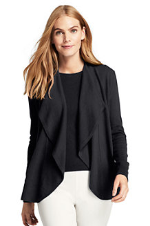 Women's Cashmere Waterfall Cardigan