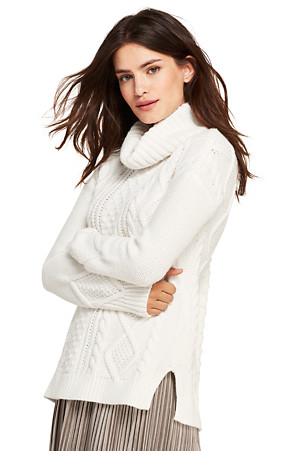 2cb103305 Women s Cosy Lofty Cable Roll Neck Jumper