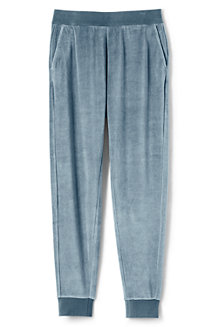 Women's Soft Leisure Velour Joggers