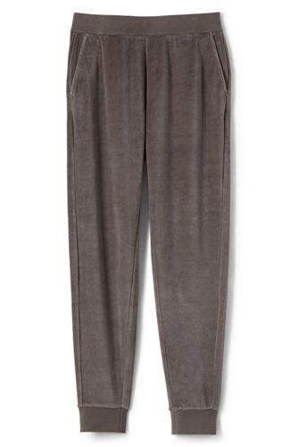 Le Pantalon de Jogging en Velours Lounge, Femme Stature Standard
