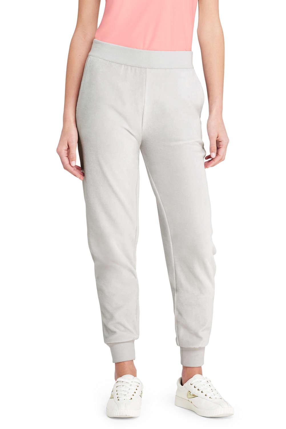 bc9e9c20c2ce56 Women's Velour Jogger Pants from Lands' End