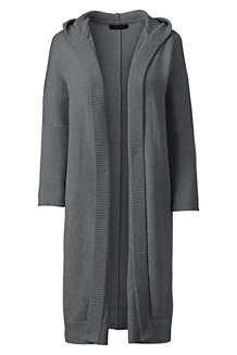 Women's Soft Leisure Hooded Cardigan