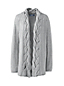 Women's Soft Leisure Cable Placket Cardigan
