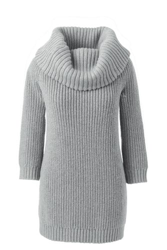 Women's Merino Blend Off-the-Shoulder Cowl Jumper