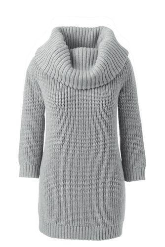 Schulterfreier Pullover im Merino-Mix für Damen in Normalgröße