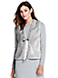 Women's Merino/cotton Fur Front Waistcoat