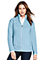 Women's Airspun Zip-front Cable Cardigan