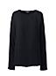 Crêpe-Blusenshirt mit Ballett-Ausschnitt für Damen