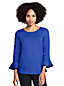 Women's Three-quarter Bell Sleeve Top