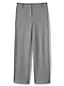 Women's Herringbone Jacquard Wide Leg Trousers