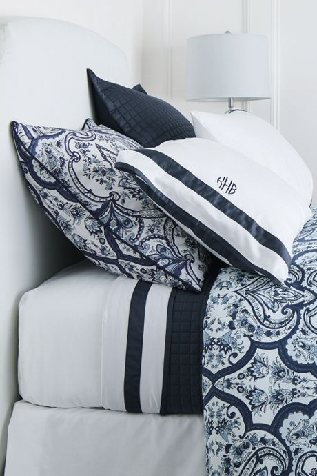 400 No Iron Contrast Border Pillowcases