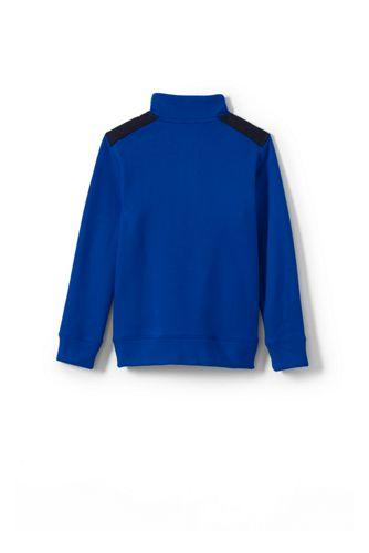 Lands' End - Boys' Half-zip Sweatshirt - 2