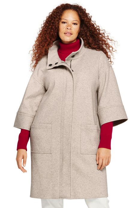 Women's Plus Size Relaxed Topper Jacket