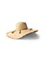Le Chapeau de Paille avec Pompons, Femme