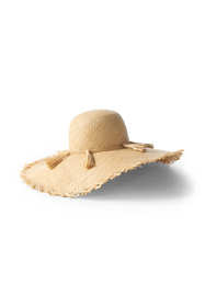 Women's Straw Tassel Sun Hat