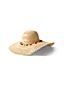 Le Chapeau de Paille avec Pompons Colorés, Femme