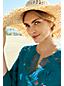 Women's Multi-coloured Tasselled Straw Sun Hat