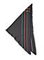 L'Écharpe Triangulaire en Coton, Femme