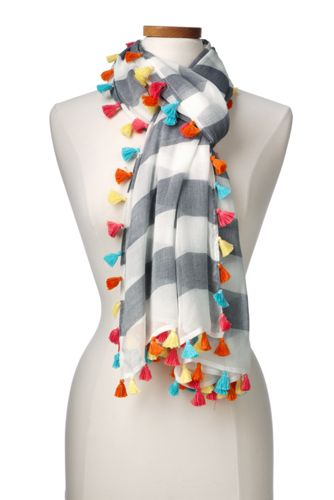Women's Tasselled Scarf