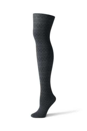 Women's Fair Isle Tights from Lands' End