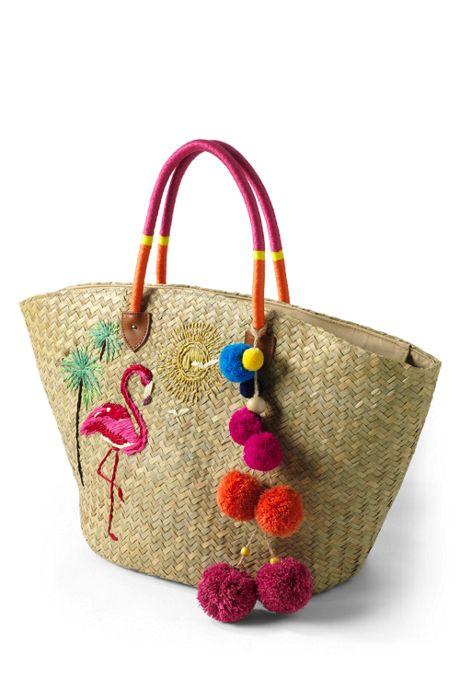 Women's Pom Pom Bag Charm